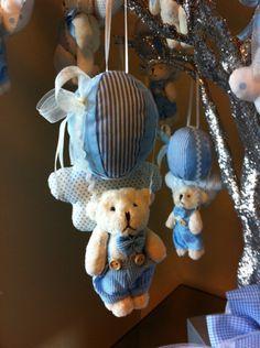 Bebek Şekeri, Uçan balon ayıcıklı bebek şekerleri, Doğum Organizasyonu, Bebek Doğum Süslemesi