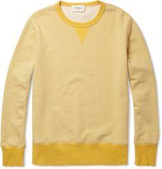 ymcloopback cotton-jersey sweatshirt. mr porter.