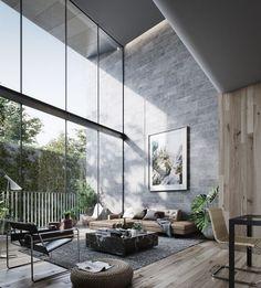 Minimal Interior Design Inspiration | 91 - UltraLinx  ~ Great pin! For Oahu architectural design visit http://ownerbuiltdesign.com
