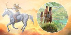 Der Sieg Jesu auf dem weißen Pferd ermöglicht das Paradies