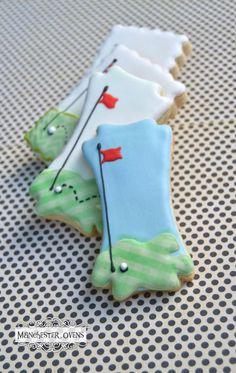 Golf Cookie Sticks | Manchester Ovens