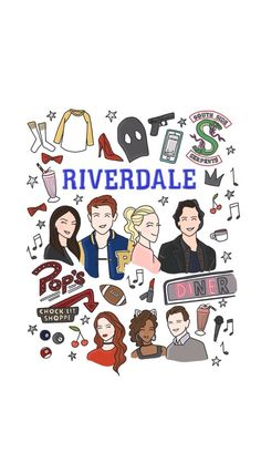 Riverdale Wallparer