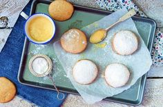 Ciasteczka kokosowe przekładane kremem mango