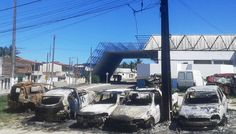 NONATO NOTÍCIAS: QUATRO CARROS SÃO DESTRUÍDOS  PELO FOGO EM FRENTE ...
