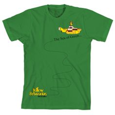 Camiseta Unissex The Beatles - The Sea Of Green