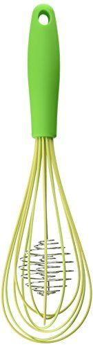 The Worlds Greatest Silicone Coated Double Helix Rapid Balloon Whisk 188 Stainless Steel 12Inches ** You can find out more details at the link of the image.Note:It is affiliate link to Amazon.
