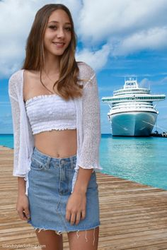 Sexy Summery White Ladies Sheer Shrug. Super Lightweight Knit Cardigan. You can roll this up in your bag and pop on after the sun goes down. Throw over a summer dress, jeans or shorts. #luau #cruisewear #summer #beachcoverup #bolero #cruisewear #beachcardigan #cardigan #over-swim