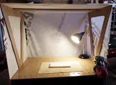 DOWNDRAFT DUST COLLECTION TABLE WITH DUST HOOD  - Woodworking creation by Kiefer