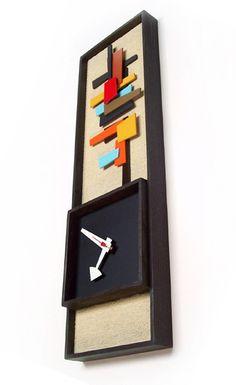 Danish Modern Art Modernist Clock Eames Era Tiki Retro Mid Century Modern Nelson