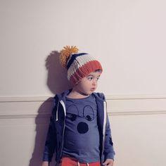 Bobo Choses, winter'12 hooded sweat shirt birds all over (55), Bling