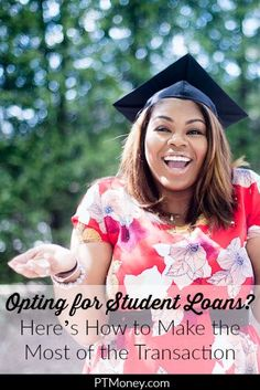 Opting for Student Loans? Heres How to Make the Most of the Transaction Apply For Student Loans, Student Loan Payment, Scholarships For College, Education College, College Life, Higher Education, Tutoring Business, Build Credit, Borrow Money