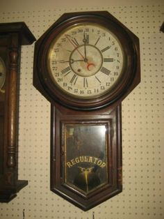 Vintage Pabst Old Time Clock Rare Pabst Blue Ribbon Clock