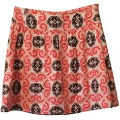Pre-owned Vineyard Vines Skirt ($59) ❤ liked on Polyvore featuring skirts, vineyard vines, red skirt and vineyard vines skirts