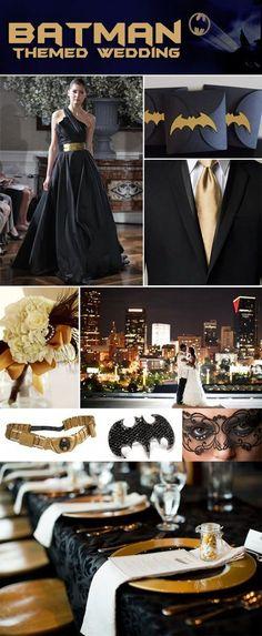 Full on batman wedding? Where's the camo though?