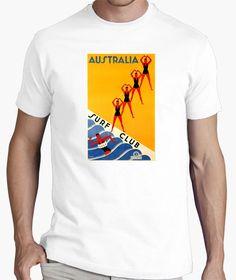 Camiseta Australia surf club