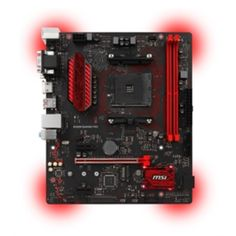 MSI Motherboard B350M Gaming PRO AMD AM4 B350 DDR4 PCI Express micro-ATX Retail