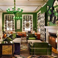 DC's Greenest Hotel Lobby.