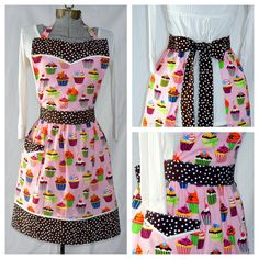 Hey, I found this really awesome Etsy listing at https://www.etsy.com/listing/72140069/cupcake-pinafore-bib-apron-pink-sweet