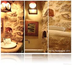 grotto bathroom.