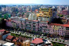 Around the World in 80 Days | www.TwoPinkHouses.com - Tirana Albania.
