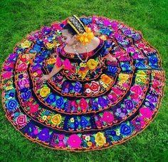Beautiful Chiapas Folklorico Dancer