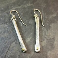 Steinhagens- Simple Forge Earrings from Oxidize Metal Art Gallery for $98 on Square Market