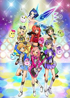 Tags: Anime, Official Art, Pretty Rhythm: Rainbow Live, Ayase Naru, Rinne (Rainbow Live)