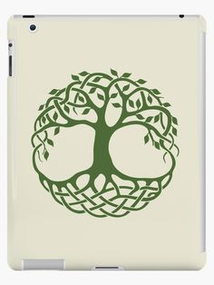 Celtic tree of life design is a traditional Irish design with celtic knots for branches and roots. this design was hand drawn and converted digitally. Enjoy! • Also buy this artwork on phone cases, apparel, stickers, and more.