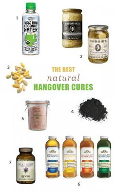 The Best Natural Hangover Cures