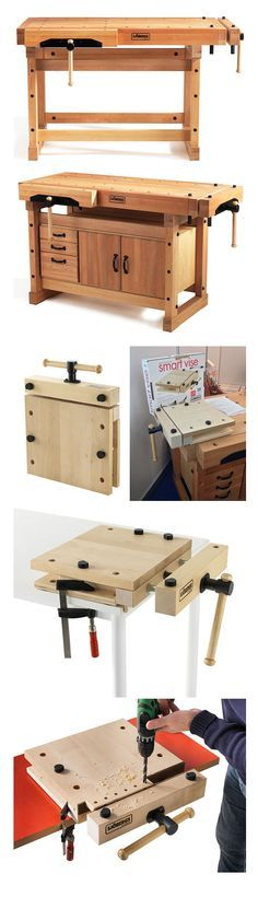 Sjöbergs' Traditional Workbenches and Portable Smart Vise | http://www.core77.com/posts/26694/sjbergs-traditional-workbenches-and-portable-smart-vise-26694