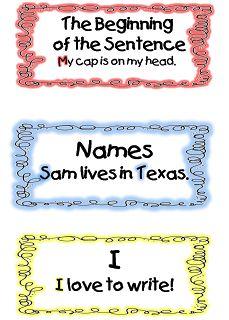 First Grade Wow: Put a Cap On it!!