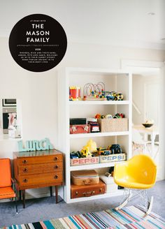 not sure why but love - seems actually like a real house? | Fete's Winter Issue