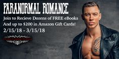 Join FREE now & discover your new favorite series with this Live FB Giveaways featuring some of the hottest New York Times & USA Today bestsellers as well as many, amazing breakout authors!  Best Part? Everyone Who Enters Will Win A Paranormal Romance Library Of Steamy Hot Digital Paranormal Romance Novels Directly From Top Authors! Prizes And Breakdown: We're giving away four (four) $50 Amazon gift cards to the top winners Everyone who enters wins a digital library of paranormal rom...