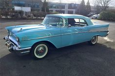 Available* at Scottsdale 2017 - Lot #789.1 1957 CHEVROLET BEL AIR CONVERTIBLE
