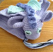 Ravelry: Idris the Dragon Lovey / Comforter pattern by Laura Tegg... Free pattern!..This would be a good pattern for a little boy!