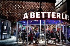 A better life #Expo #ExpoMilano2015 #Expo2015 #Expo2015milano #PadiglionePaesiBassi #PadiglioneOlanda #hollandpavilion #Milano #igersmilano #ig_milano #vivomilano #milanodaclick #milanodavedere #bestoftheday #picoftheday #night #lights #architectureporn #instagood #instacool #vsco #vscocam #vscogood by la_dandi