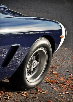 Autumn Reflections... Stirling Moss' 1961 Rob Walker Ferrari 250 GT SWB C No.7 - 2011 Goodwood Revival by rookdave, via Flickr