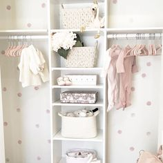 Baby Rooms Category - Page 3 of 122 - Project Nursery Baby Bedroom, Nursery Room, Girl Nursery, Nursery Decor, Nursery Wall Decals, Nursery Ideas, Kid Closet, Baby Girl Closet, Closet Wall