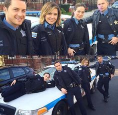 Jesse Lee Soffer, Sophia Bush, Marina Squerciati, and Brian Geraghty