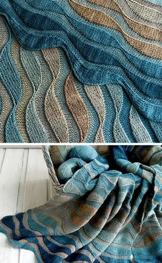 Dunes Stole, Time flew by … because of the fact that the knitting needle rolled gently on , Baby Knitting Patterns, Knitting Stitches, Crochet Patterns, Knitted Shawls, Knitted Blankets, Easy Knitting, Knitting Projects, Knitting Ideas, Crochet Projects