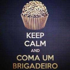 Matenha a calma e coma um brigadeiro. Receitas Supreme de brigadeiro. #Receitasrapidas #Doces #Brigadeiro