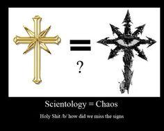 Warhammer 40k Scientology=Chaos