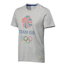 New! Mens Team GB Logo T-Shirt