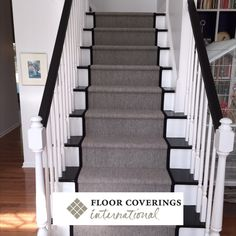 White, black, and grey blend beautifully to breathe new life into once tired treads. The classy finish looks as good as a well-made, custom-tailored suit.