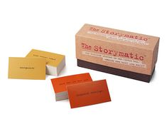 Look what I found at UncommonGoods: storymatic game... for $29.95 #uncommongoods