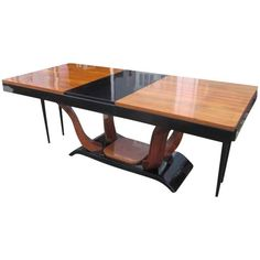 Art Deco Dining Table, circa 1920 from France | From a unique collection of antique and modern dining room tables at https://www.1stdibs.com/furniture/tables/dining-room-tables/