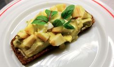 """Homemade """"Karrysild"""" : herring with curry."""