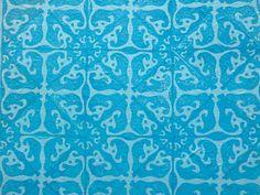 Défi de juin... Motif d'azulejos portugais !