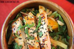 Chicken, Mango and Pineapple Salad
