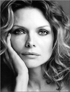 black and white of michelle pfeiffer - Google Search